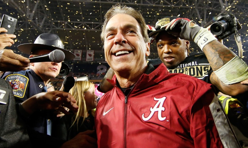 alabama s nick saban once again shows he s simply the best socal